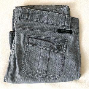 Fox Racing Gray Chevron Pants